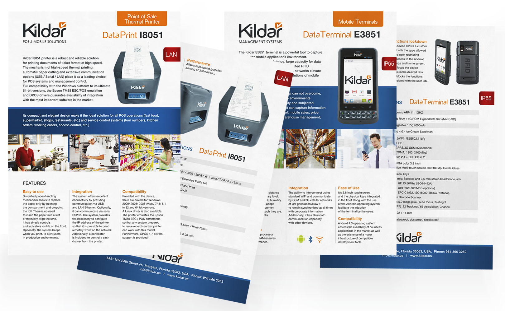 Kildar, Logo and Web design. Collateral material.